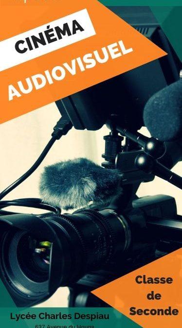 Nouveauté : l'option cinéma-audiovisuel en Seconde