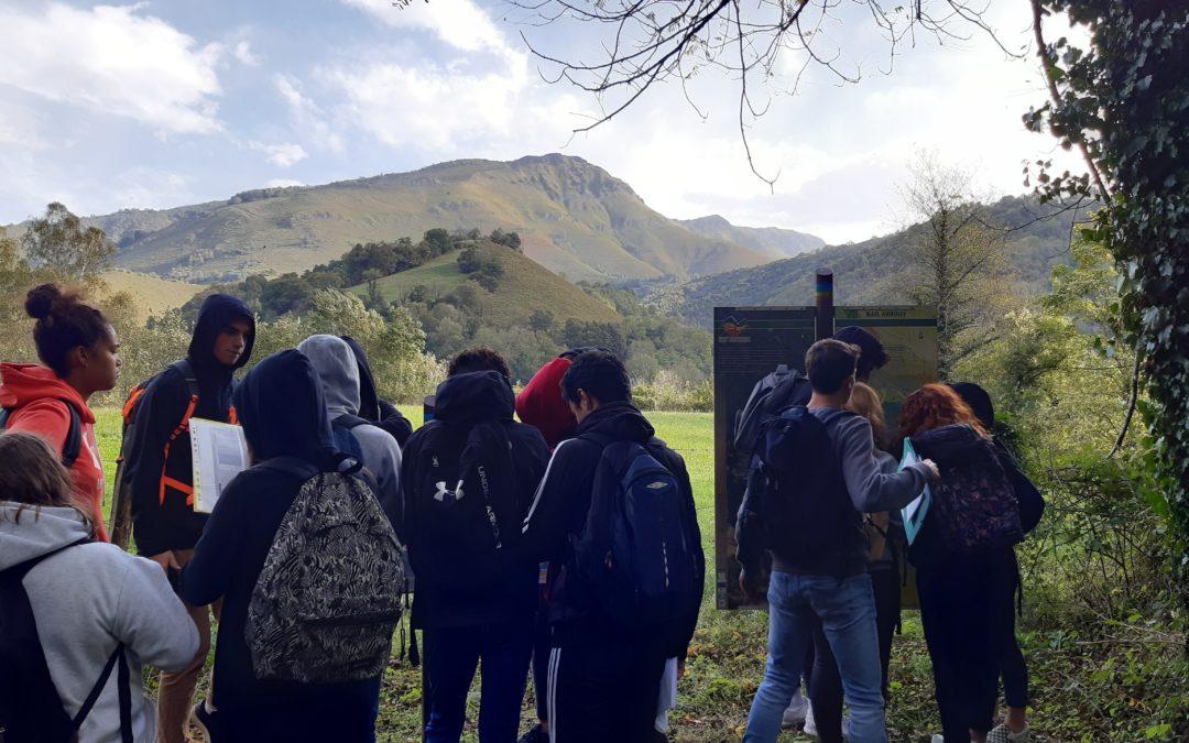 Sortie géologique dans les Pyrénées