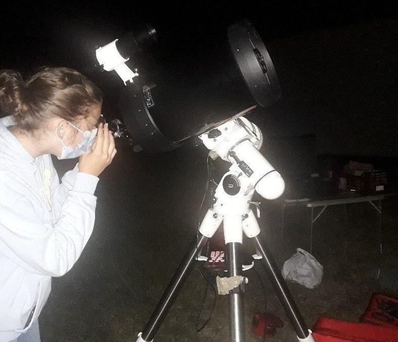 Premières observations pour le club ASTRONOMIE !