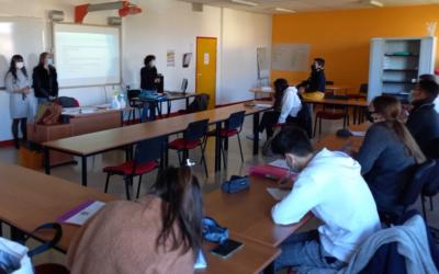 Présentation du BTS SP3S aux élèves du lycée Wlérick