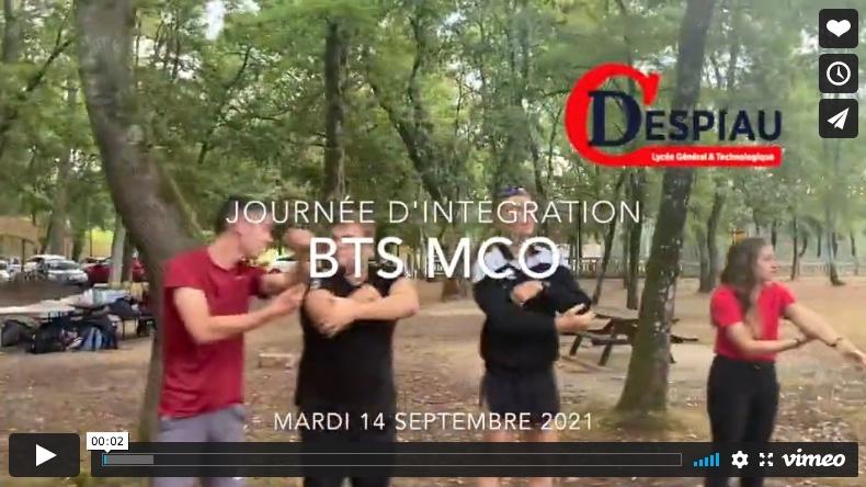 Intégration BTS MCO 21/22 réussie !